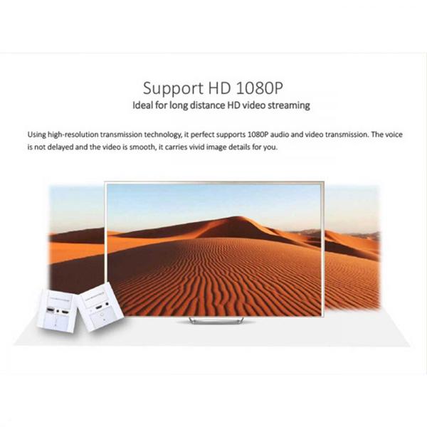 اکستندر تصویر HDMI دیواری لنکنگ مدل LKV372W