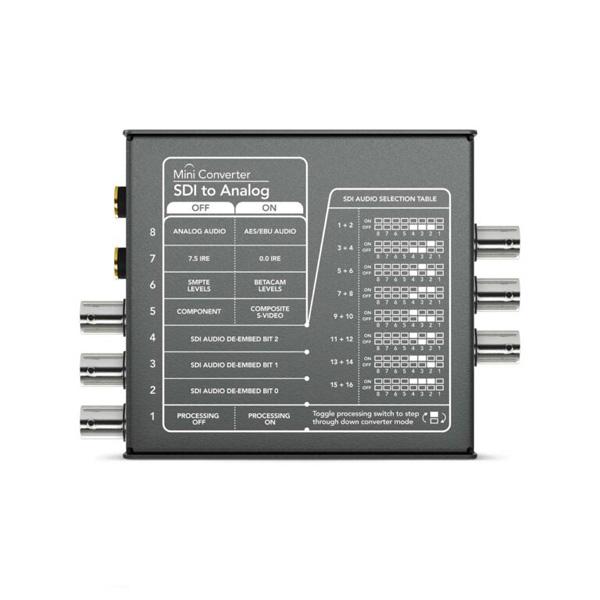 مبدل استودیویی Blackmagicdesign مدل Mini Converter SDI to Analog