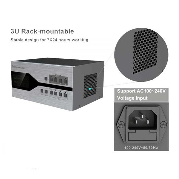 سوئیچ ماتریس مدولار ۴در۴ HDMI لنکنگ مدل LKV4x4 HDbitT