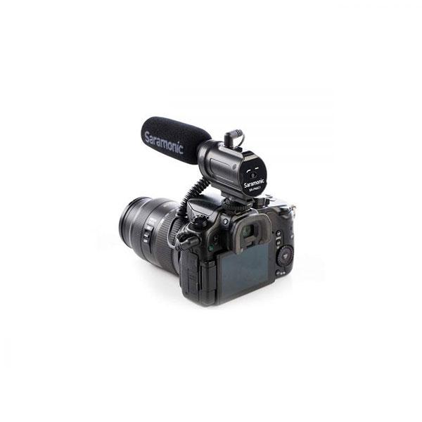 میکروفن روی دوربینی Saramonic مدل SR-PMIC1
