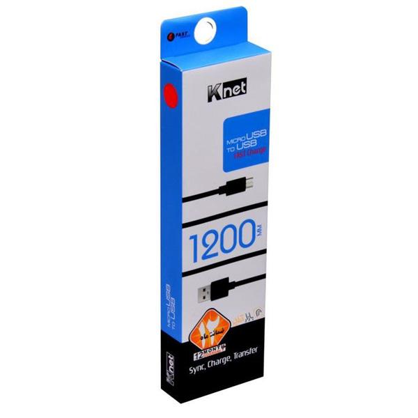 کابل فست USB2.0 AM به USB2.0 Micro کی-نت