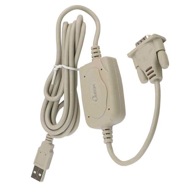 کابل تبدیل USB به سریال RS232 امگا OMEGA مدل USR2309