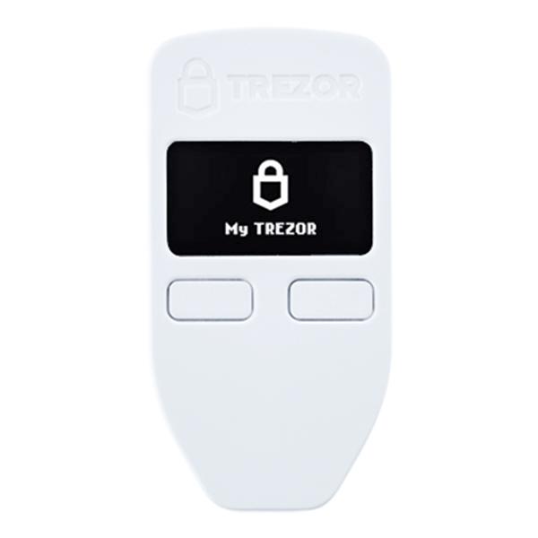 کیف پول سخت افزاری ترزور وان – Trezor One Crypto Hardware Wallet